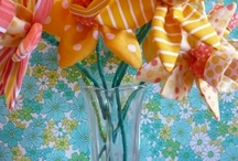 Fabricaholic-Flowers / by Gail