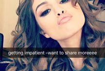 Selena Snapchat