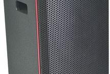 TECNARE E-12 / FULL-RANGE COMPACT LOUDSPEAKER  2-WAY Passive speaker 1 x 12-inch LF cone, Vented box 1 x 1-inch HF compression Driver on a CD horn