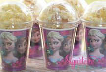 Frozen themed party ideas / frozen party
