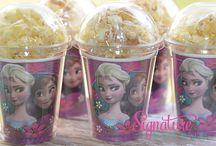 Frozen themed party ideas / frozen party