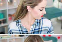 Hair / Hair tutorials and hair tips: Our favorite hairstyles, tips, DIY, wedding hair and everything gorgeous hair!