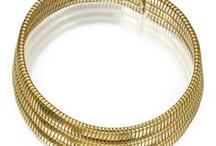 Chocker / Triple tubogas chocker necklace