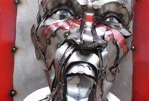 arte em metal