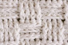 Crochet / Also nalbinding and macrame