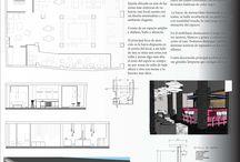PROYECTOS FINALES CURSO DE INTERIORISMO 2014 / Proyectos finales realizados por los alumnos de interiorismo de la escuela Gaia.