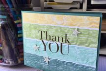 Stampin up chalk lines
