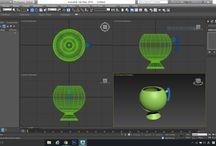 3D MAX / 모델링 기초 연습