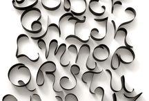 Schriftarten // typography