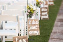 Svatba - výzdoba a dekorace