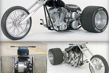 trikes and sidecars / by christopher smith