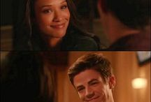 And yet another example of why Barry and Iris just need to get it together. It's ridiculous how cute they are.  CW's The Flash  TV Shows  Westallen  Candice Patton  Grant Gustin 