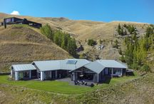 A home to show-off! / This home for one of our lucky clients is nestled into the New Zealand country side. We answered the customer's wish list with this home; ticking off their needs along with lots of stunning views. A custom designed home for the site and clients lifestyle. With a big 395m2 floor area!
