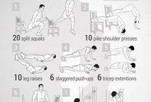 Body workouts no equipment needed