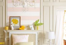 Spring Design Trends / Here are some ideas to freshen your home decor for the spring and summer seasons.