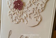 Butterflies / Find inspiration as it flutters by with these creative ideas using Stampin' Up! products. Card making and inspiration posted daily http://crackedpotstamper.com