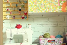 Sewing and Craft Room / by Lisa Gilbert