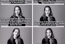 Jennifer Lawrence / My favorite girl, my spirit animal
