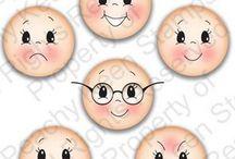 caras de muñeca