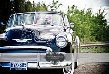 Vintage Car Engagement