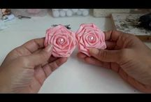 flor com perola
