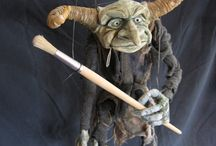 Marionettes / Real Marionettes and Character Inspiration