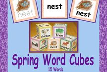 Vocabulary Development / Bring on the classroom materials for developing students' oral and written vocabulary.