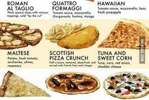 All kind of food
