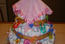 Baby Shower Ideas & Diaper Cakes / Great tips and Ideas for a Shower or Baby / by Linda McCune
