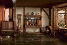 cozy english cottages / classic traditional english house design, english style interiors