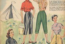Женские брюки.50-е годы(Burda)