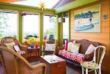 Patio & Porch Living  / Enjoy a beautiful porch, patio, lanai or Florida room as much as the interior of your home! Visit http://www.decoratorfiles.com/PatioDecorating.html for more ideas