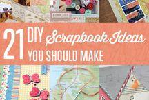 scrapbook / Inspiration for a scrap book