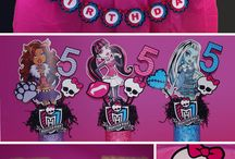 Monster high synttärit