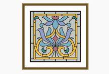 Cross Stitch Patterns / Cross stitch patterns available on Etsy www.etsy.com/au/shop/milliecooperpatterns