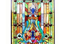 Ólomüveg díszités  stained glass decoration