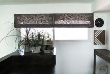 Making Roman blinds