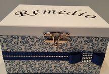 коробка для крестин