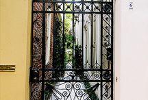 Portteja -gates / Kauniita portteja ja pihoja