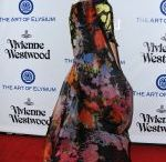 ANGELA LINDALL at The Art of Elysium  Heaven Gala in Culver City