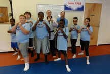 At King Tiger Charlotte / Learning Tae Kwon Do with our good friends at King Tiger!