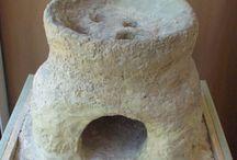 clay stove