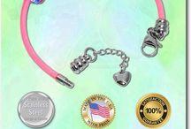 Leather Bracelets / Leather European Style Charm Bracelets