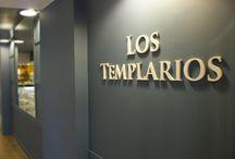Bar- Restaurante los templarios. / Bar restaurante Los Templario en Monesterio (Badajoz) realizado por el estudio.