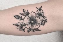 Blomster Tatoo