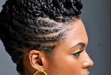 Natural Afro Hair / Afro Hair
