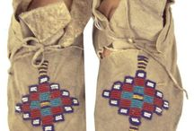 american native moccasins