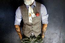 Waistcoats and bow ties
