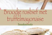 broodje rosbief met truffelmayo