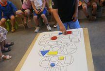 Thema: Puk leert kleuren en vormen!